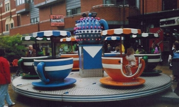 tea cups rides for hire